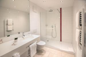 Ванная комната в Landhotel Alte Mühle