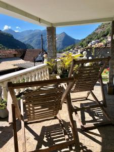 A balcony or terrace at ACE Casa Quitandinha - Paz e Ar Puro Imperial