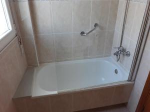 A bathroom at Arenas Palas