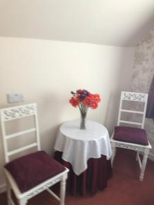 Dining area in the guest house
