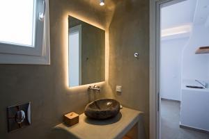 Koupelna v ubytování Anais