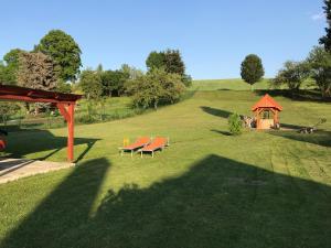 Zahrada ubytování Privat Lucia Holla
