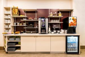Cuisine ou kitchenette dans l'établissement Grand Hôtel Lille