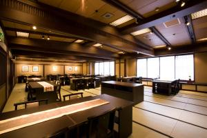 A restaurant or other place to eat at Onyado Tsutaya
