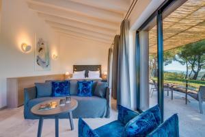 En sittgrupp på Carrossa Hotel Spa Villas