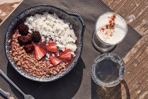 Nourriture dans la villa ou à proximité