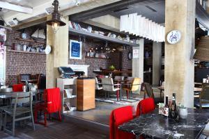 مطعم أو مكان آخر لتناول الطعام في DoubleTree by Hilton Bodrum Marina Vista