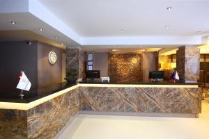 منطقة الاستقبال أو اللوبي في DoubleTree by Hilton Bodrum Marina Vista