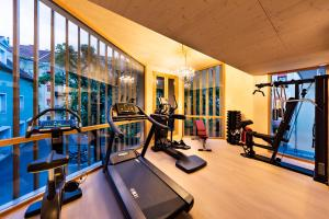 The fitness center and/or fitness facilities at Parkhotel Graz - Traditional Luxury