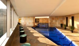 The swimming pool at or near Hilton Mexico City Reforma