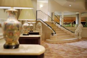 The lobby or reception area at Dai-ichi Hotel Tokyo