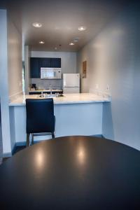 A kitchen or kitchenette at Z Loft Extended Stay Hotel