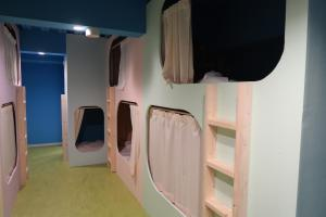 A television and/or entertainment center at Picnic Hostel Osaka