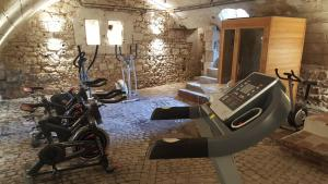 The fitness center and/or fitness facilities at Chateau de Jallanges - Les Collectionneurs