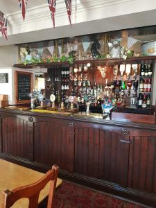 The lounge or bar area at George and Dragon Ashbourne