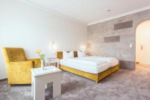 Кровать или кровати в номере Hotel - Restaurant Erich Rödiger