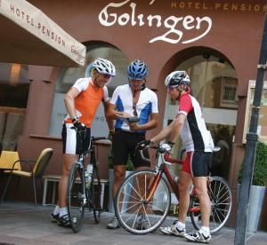 Biking at or in the surroundings of Hotel.Pension.Golingen