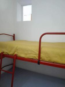 Ein Etagenbett oder Etagenbetten in einem Zimmer der Unterkunft Casa vacanza