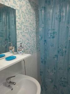Ein Badezimmer in der Unterkunft Casa vacanza