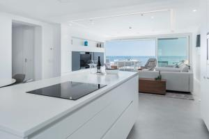 A kitchen or kitchenette at Royal Hideaway Corales Suites, by Barceló Hotel Group