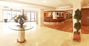 Lobbyn eller receptionsområdet på MLL Palma Bay Club Resort