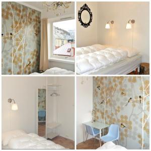Ein Bett oder Betten in einem Zimmer der Unterkunft City Hostel Bergen