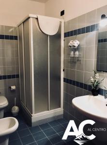 A bathroom at Al Centro