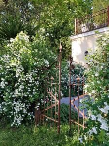 A garden outside Les Buis de Boscherville Gite