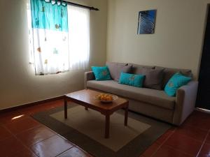 A seating area at Casa Barroca
