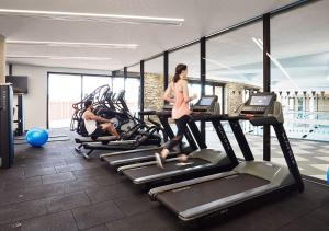 The fitness center and/or fitness facilities at RACV Cape Schanck Resort