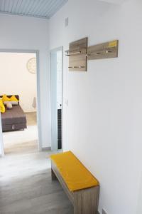 A seating area at Apartments Vlašić