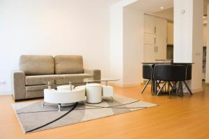 A seating area at Apartment Valentina
