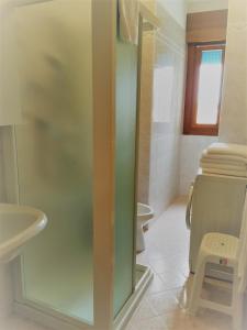 Koupelna v ubytování Residence Bolognese