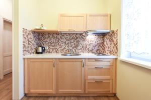 Küche/Küchenzeile in der Unterkunft Vila Levita