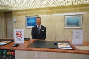 The lobby or reception area at Blancvert Nasu Onsen Hotel