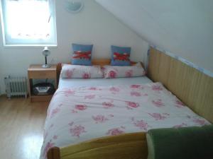 Postel nebo postele na pokoji v ubytování Chata Bešeňová