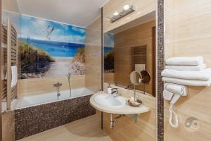 Łazienka w obiekcie Hotel SPA Activia