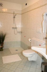 A bathroom at Agritur alla Veduta