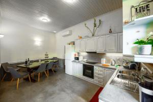 Η κουζίνα ή μικρή κουζίνα στο Athina House Spa & Hammam