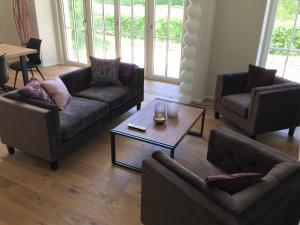 A seating area at Anker Guest House