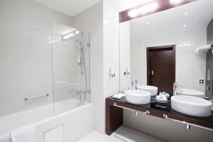 Ванная комната в Гостиница Кадашевская