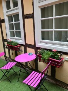 Terrasse ou espace extérieur de l'établissement La Cour des Cordonniers, Centre Cathédrale Petite France