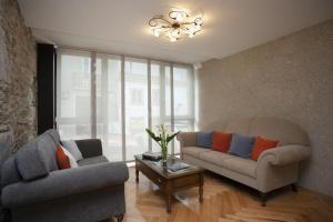 Zona de estar de Hotel Novoa