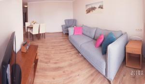 A seating area at Apartament 201 w Hotelu DIVA