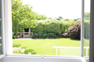 A view of the garden at Les Camelias or nearby