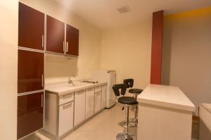 مطبخ أو مطبخ صغير في رؤوم ان سكاكا