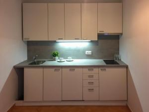 Küche/Küchenzeile in der Unterkunft Old Town Apartment U Staré školy