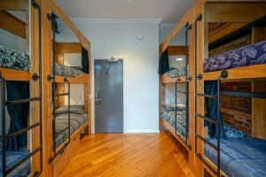 A bunk bed or bunk beds in a room at The Marion Hostel