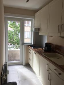 Küche/Küchenzeile in der Unterkunft Apartments Iris