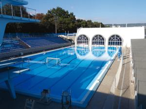 The swimming pool at or near Hotel Acropolis